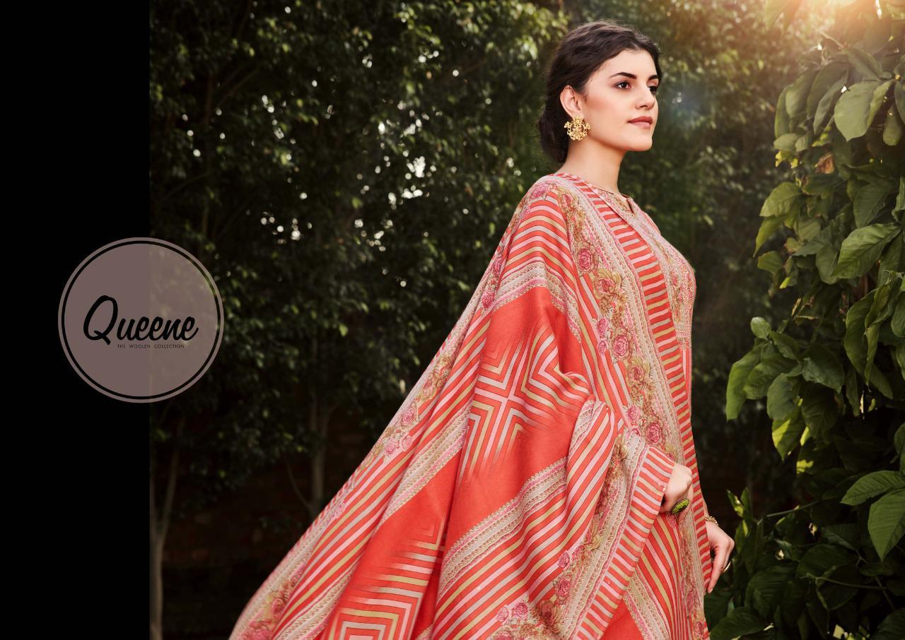 Sargam Prints Queene Designer Pashmina Printed Foil Suits Wholesale