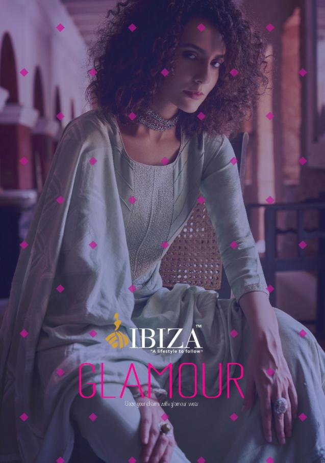 Ibiza Glamour Designer Pashmina Embroidery Suit With Jamawar Shawl Jacquard Dupatta Wholesale