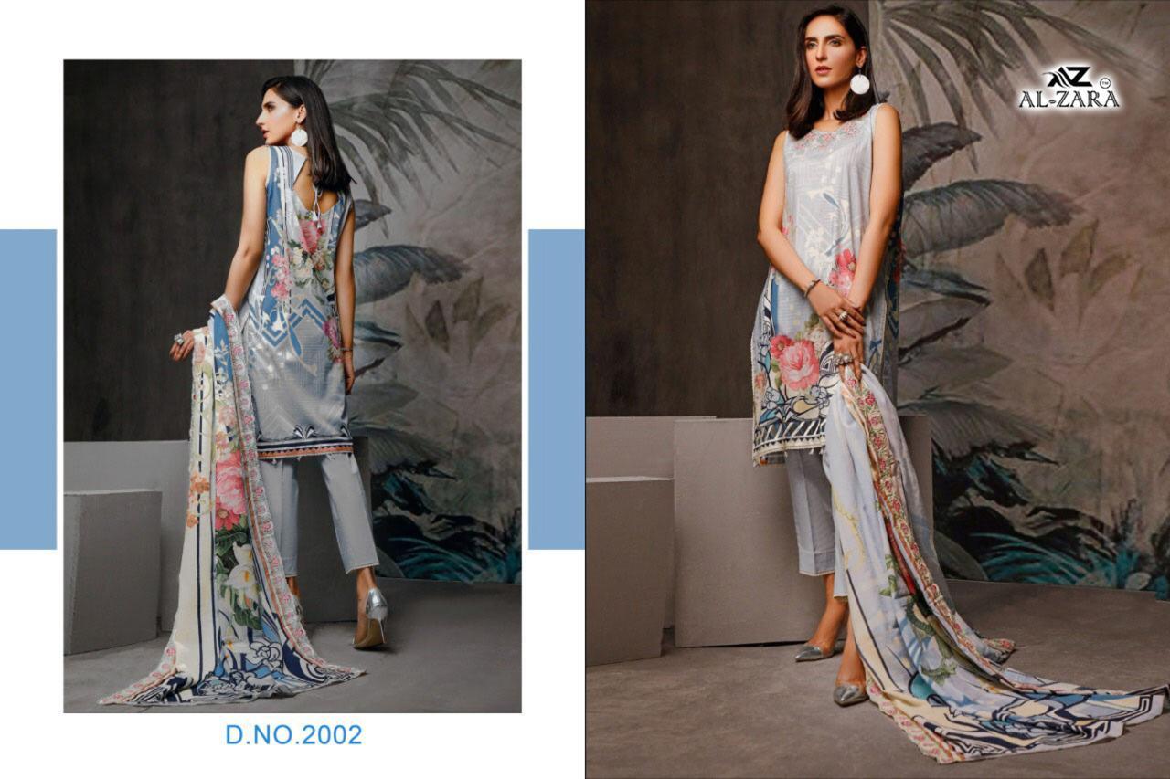 Al Zara Firdous Designer Cotton Printed Heavy Embroidery Patch Work Suits Wholesale