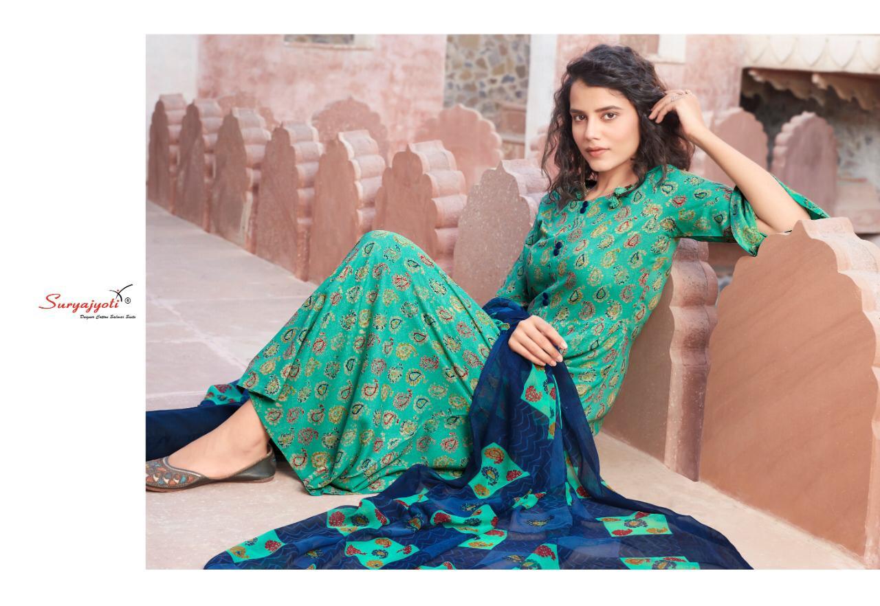 Suryajoti Princess Vol 14 Designer Rayon Printed Suits Wholesale