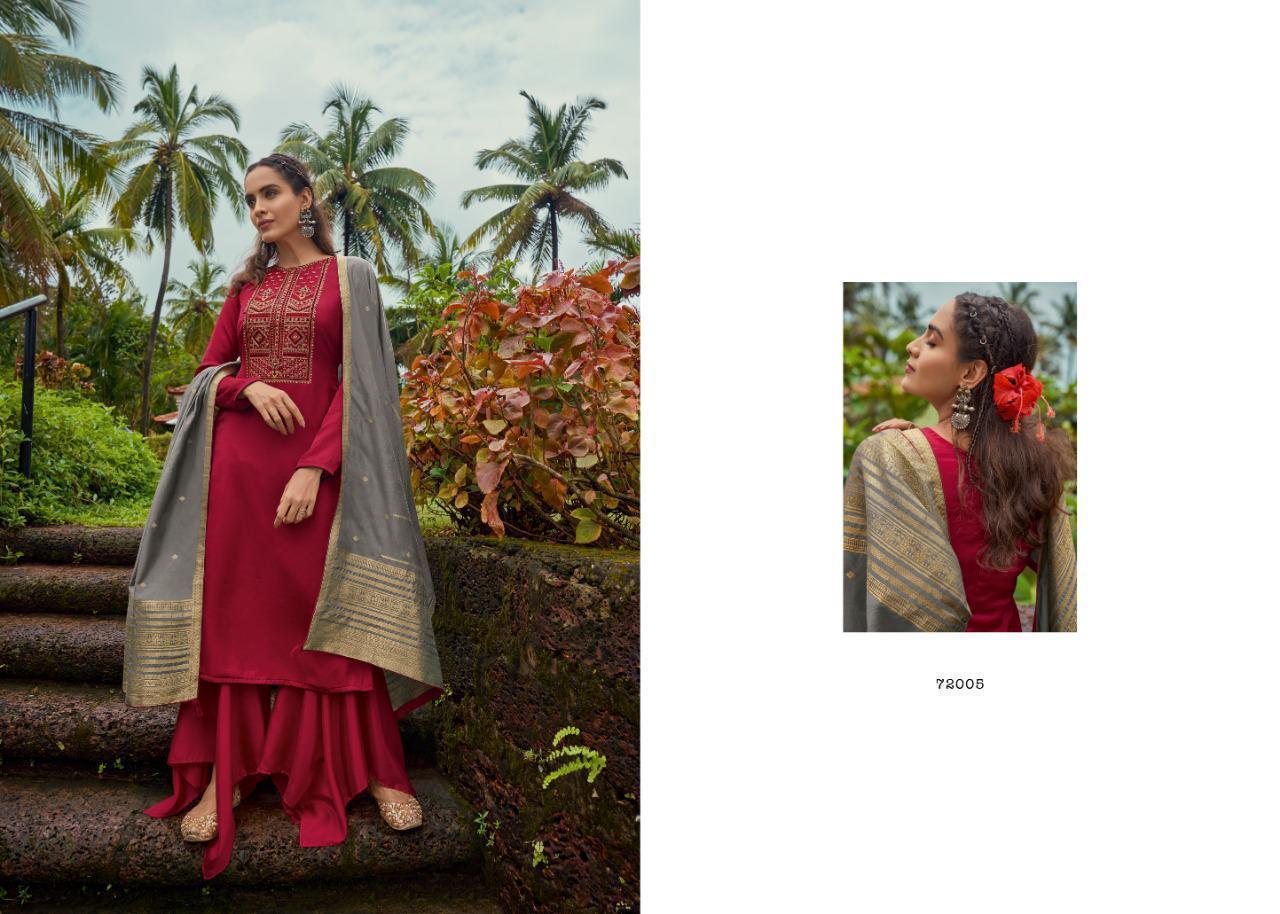 Deepsy Royal Touch 2 Winter Premium Pashmina Designer Viscose Pashmina Embroidery Work Suits Wholesale