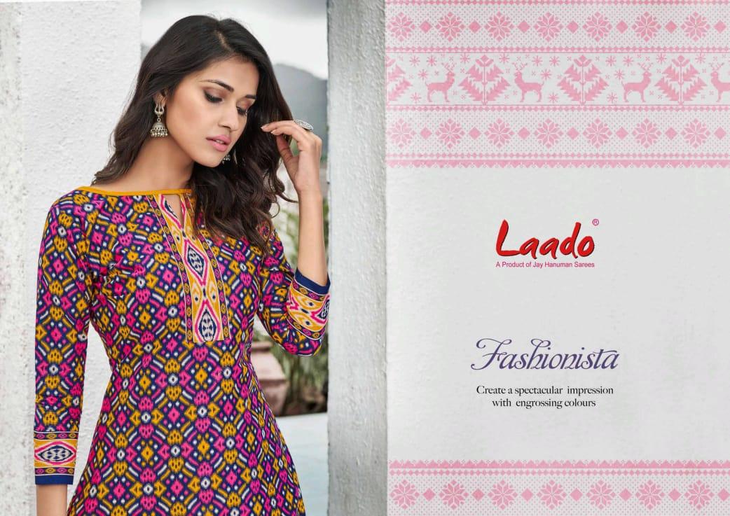 Laado Vol 54 Designer Pure Cotton Low Range Suits Wholesale