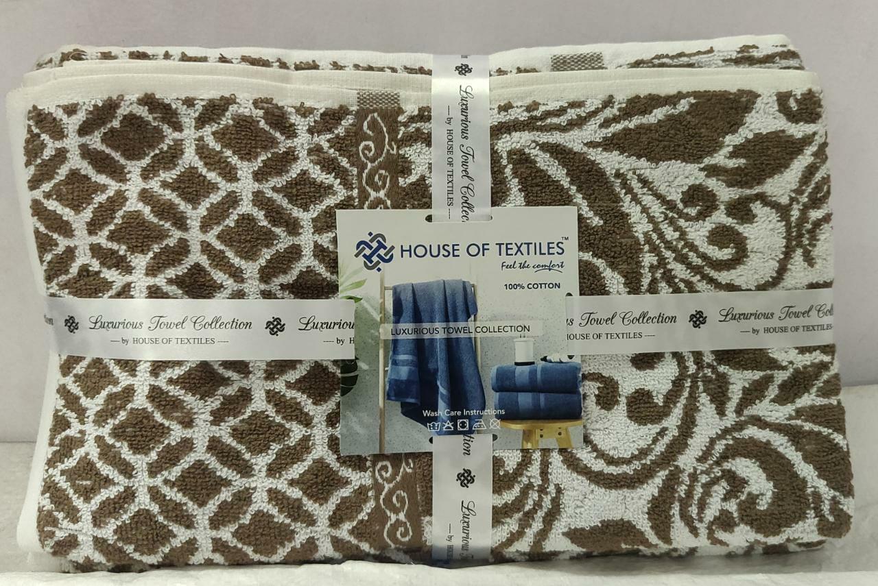Luxurious Towel Collection Cotton 2 Pieces Towel Set Wholesale