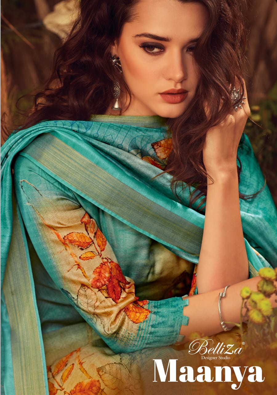 Belliza Maanya Designer Modal Satin Digital Printed Suits Wholesale