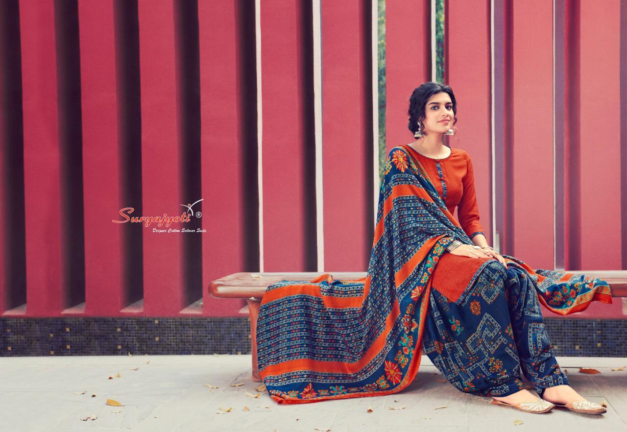 Suryajoti Pahadi Patiyala Vol 2 Designer Pashmina Dobby Winter Wear Suits Wholesale