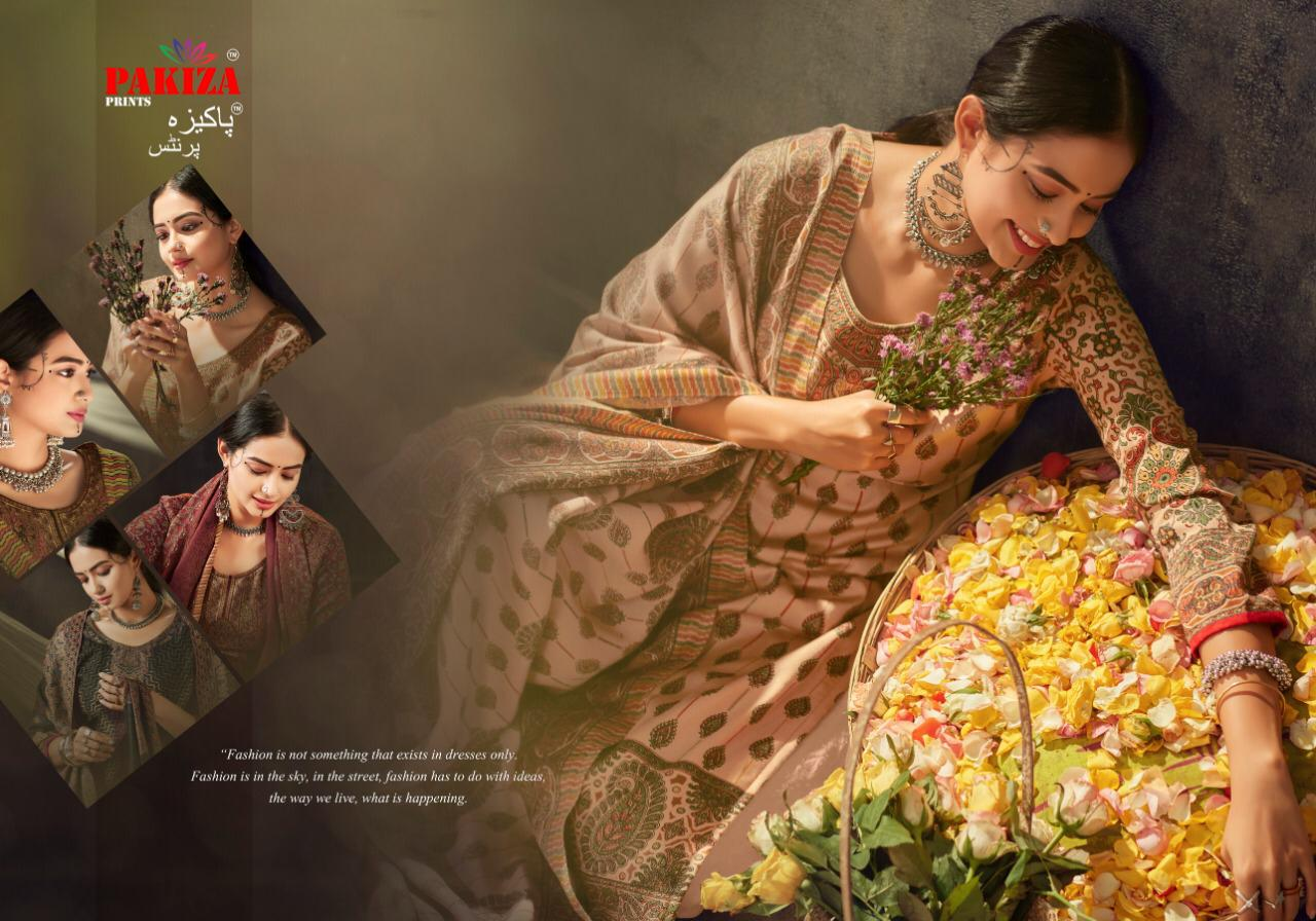 Pakiza Prints Vol 41 Designer Pashmina Printed Suits Wholesale