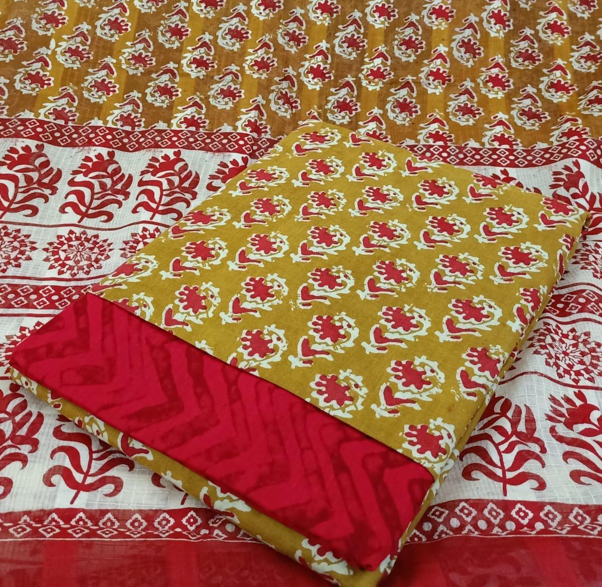 Soft Cotton Wax Batik Printed Suits Wholesale