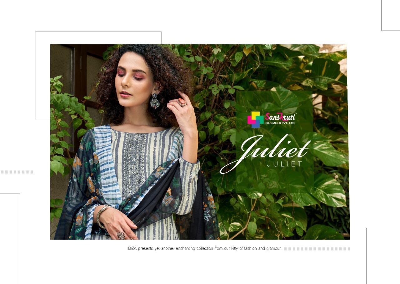 Sanskruti Silk Mills Juliet Designer Pashmina Print With Fancy Work Suits Wholesale
