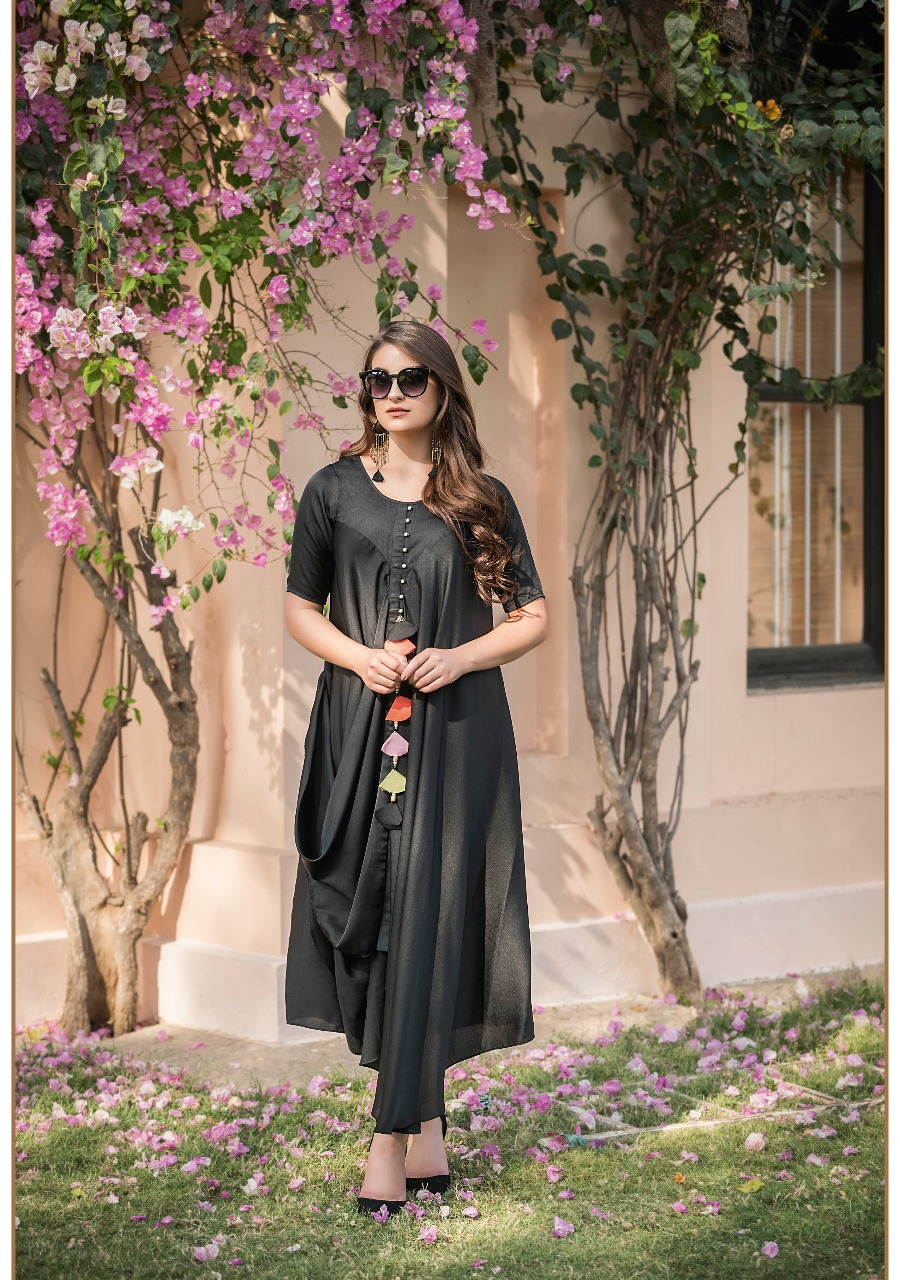 Tzu Lifestyle Kiara Missi Missi Silk Long  Round Layered Looks Outfits Wholesale