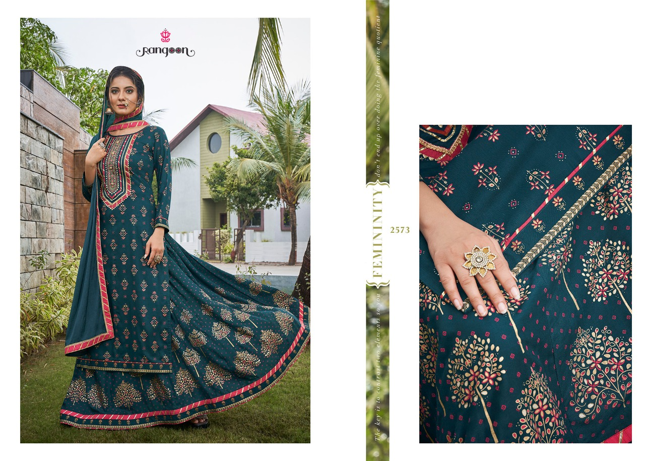 Rangoon Natraj Vol 2 Rayon Heavy Designer Lehenga Embroided Suits Wholesale