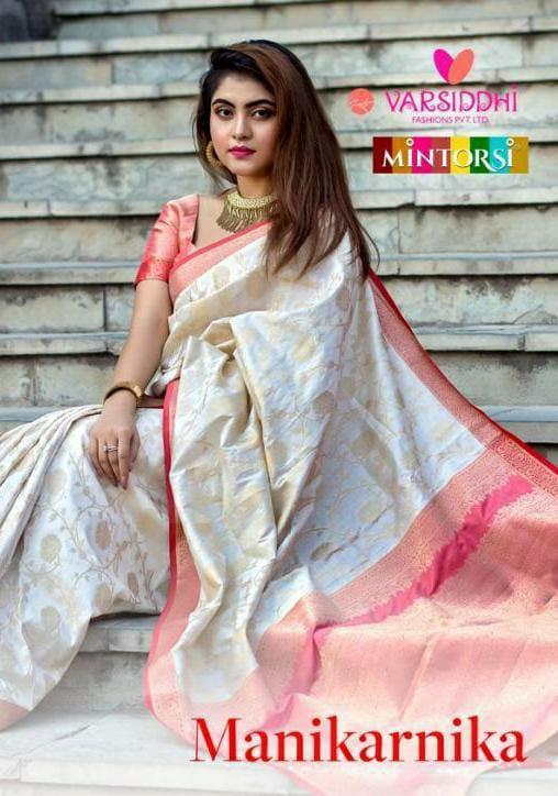 Mintorsi Manikarnika Designer Banarsi Silk Sarees Wholesale