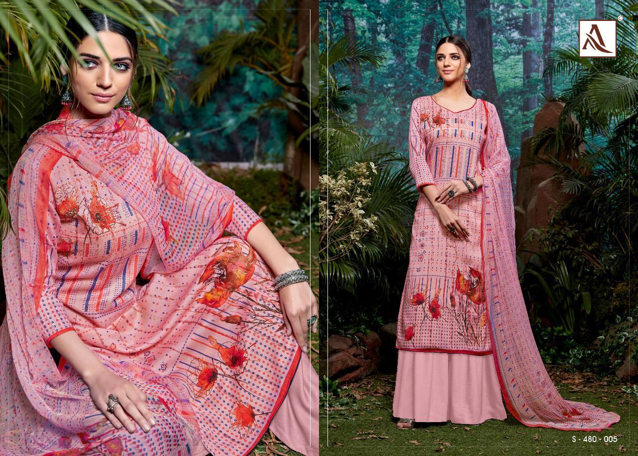 Alok Suits Kia Khatali Work Digital Print Designer Suits Wholesale