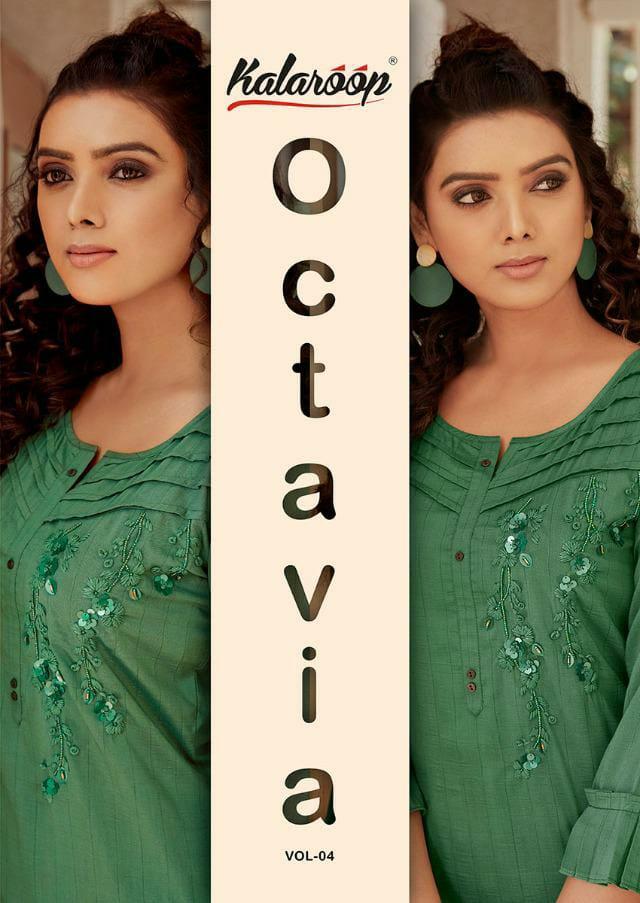 Ovatavia Vol 4 Kalaroop Kajree Designer Linen Silk Heavy Work Suit Wholesale