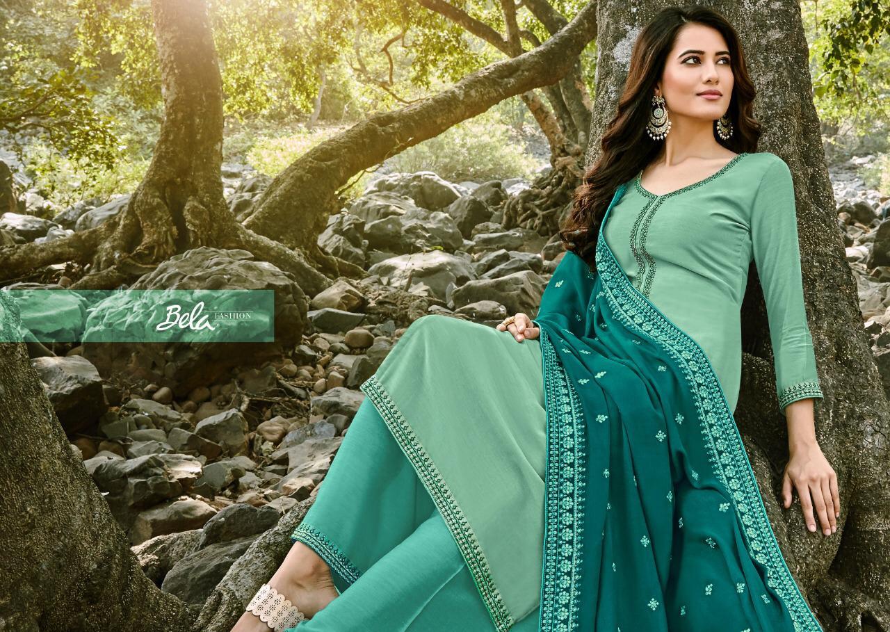 Bela Fashion Mukhar  Designer Party Wear Heavy Embroidery Suits Wholesale