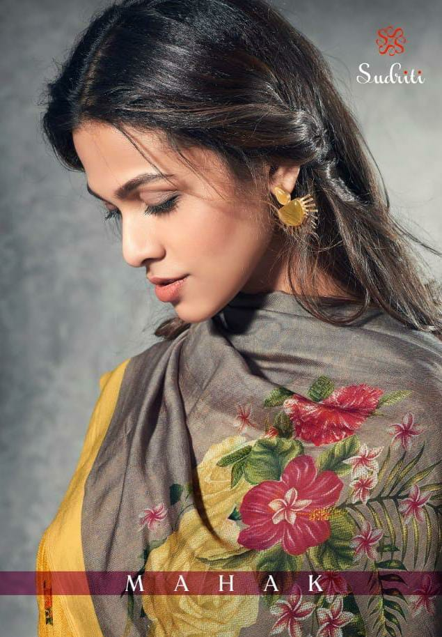 Sudriti Mahak Designer Party Wear Heavy Work Suits Wholesale