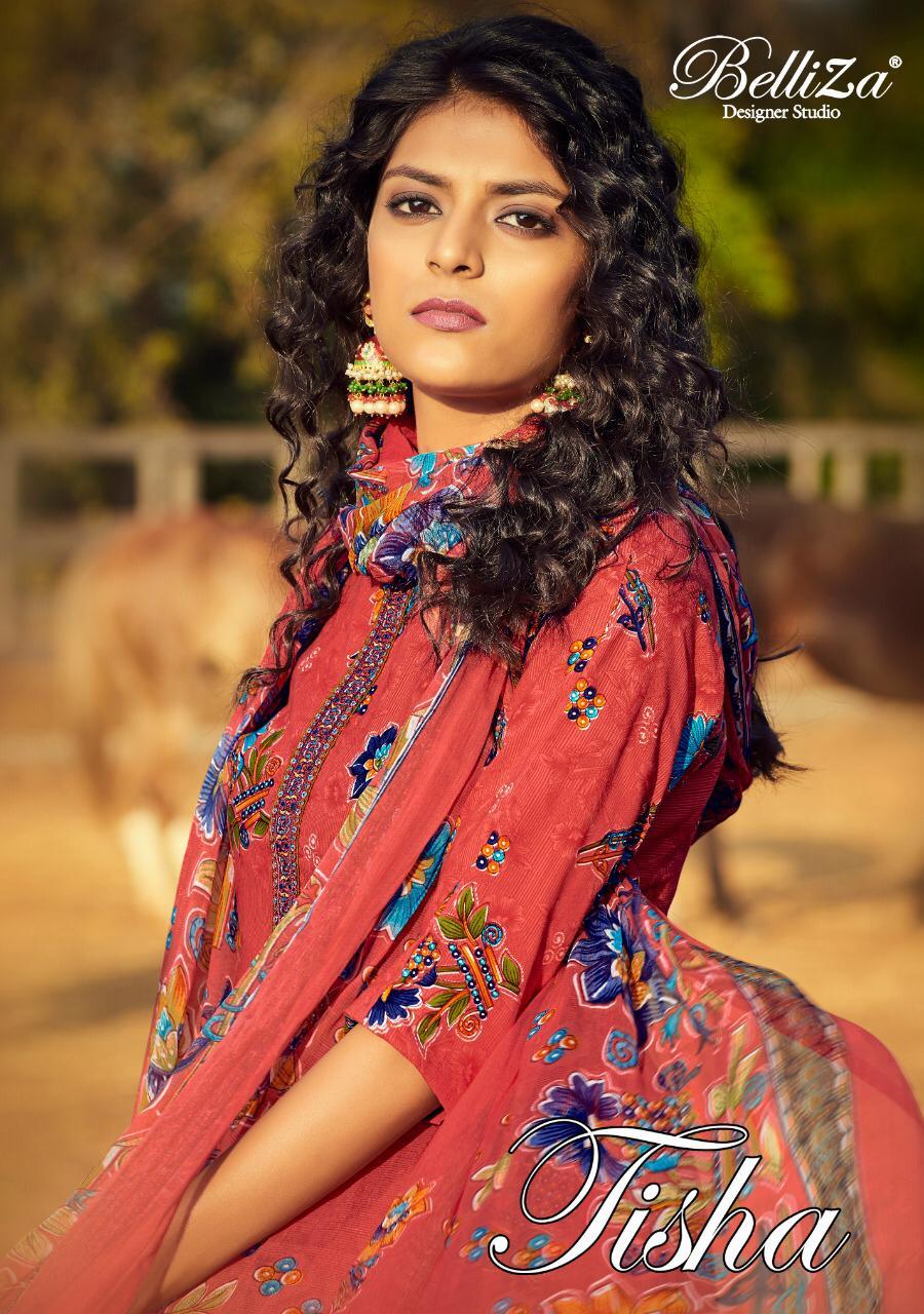 Belliza Tisha Designer Wear Heavy Work Party Wear Suits
