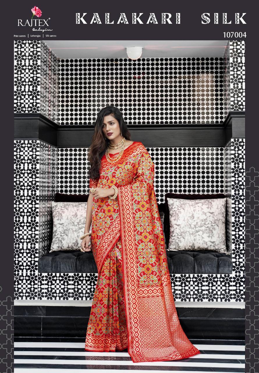 Raj Tex Kalakari Silk Designer Pure Weaving Silk Sarees In Wholesale Rate
