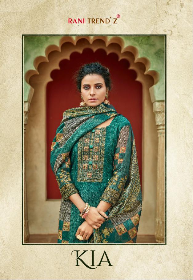 Rani Trendz Kia Designer Modal Chanderi Silk Suits In Best Wholesale Rate