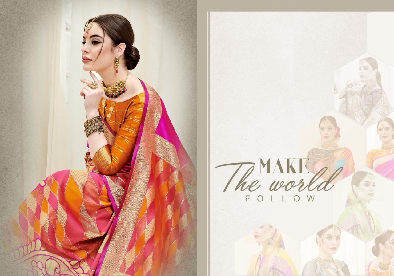 Ynf Umanga Vol 3 Kanjeevaram Art Silk Festival Wear Sarees In Best Wholesale Rate