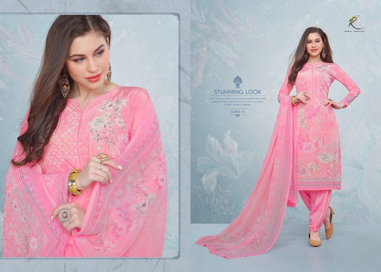Rakhi Candy Long Suits 5380 Digital  Print Daily Wear Suits In Best Wholesale Rate