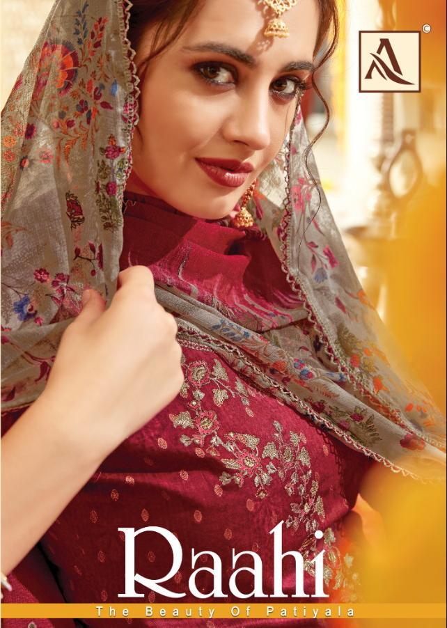 Alok Suit Raahi Designer Patiyala Suits Best Wholesale Rate