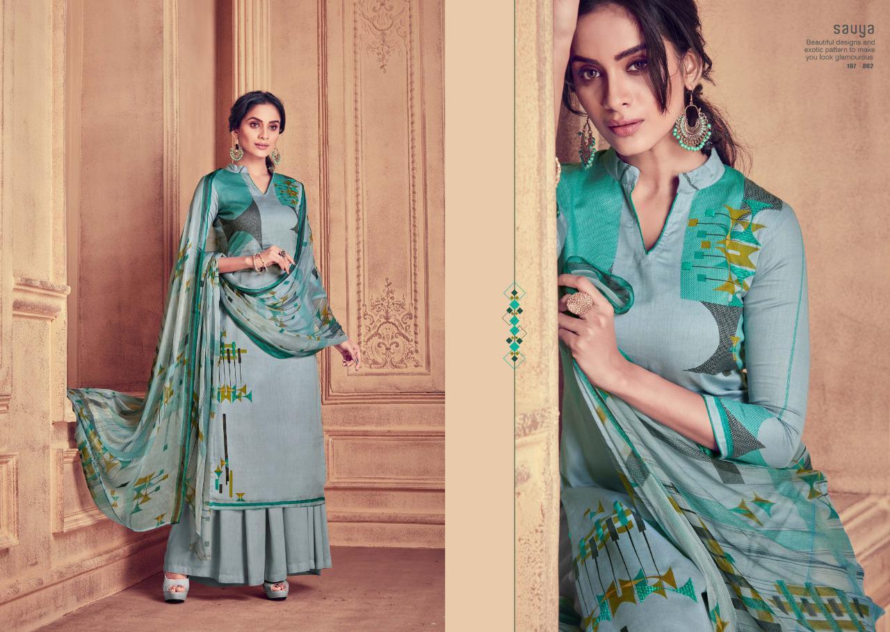 Sargam Prints Savya Designer Cotton Jam Print With Handwork Daily Wear Suits In Best Wholesale Rate