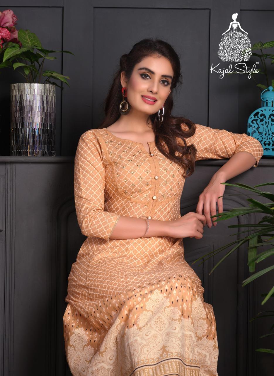 Kajal Style Fashion Paradise Vol 2 Designer Kurti Pant With Gown Wholesale
