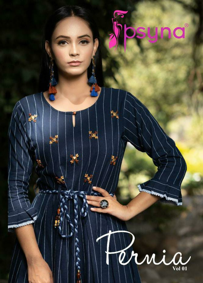 Psyna Midis Pernia Designer Hanwork Embroidery Midis With Belt Wholesale