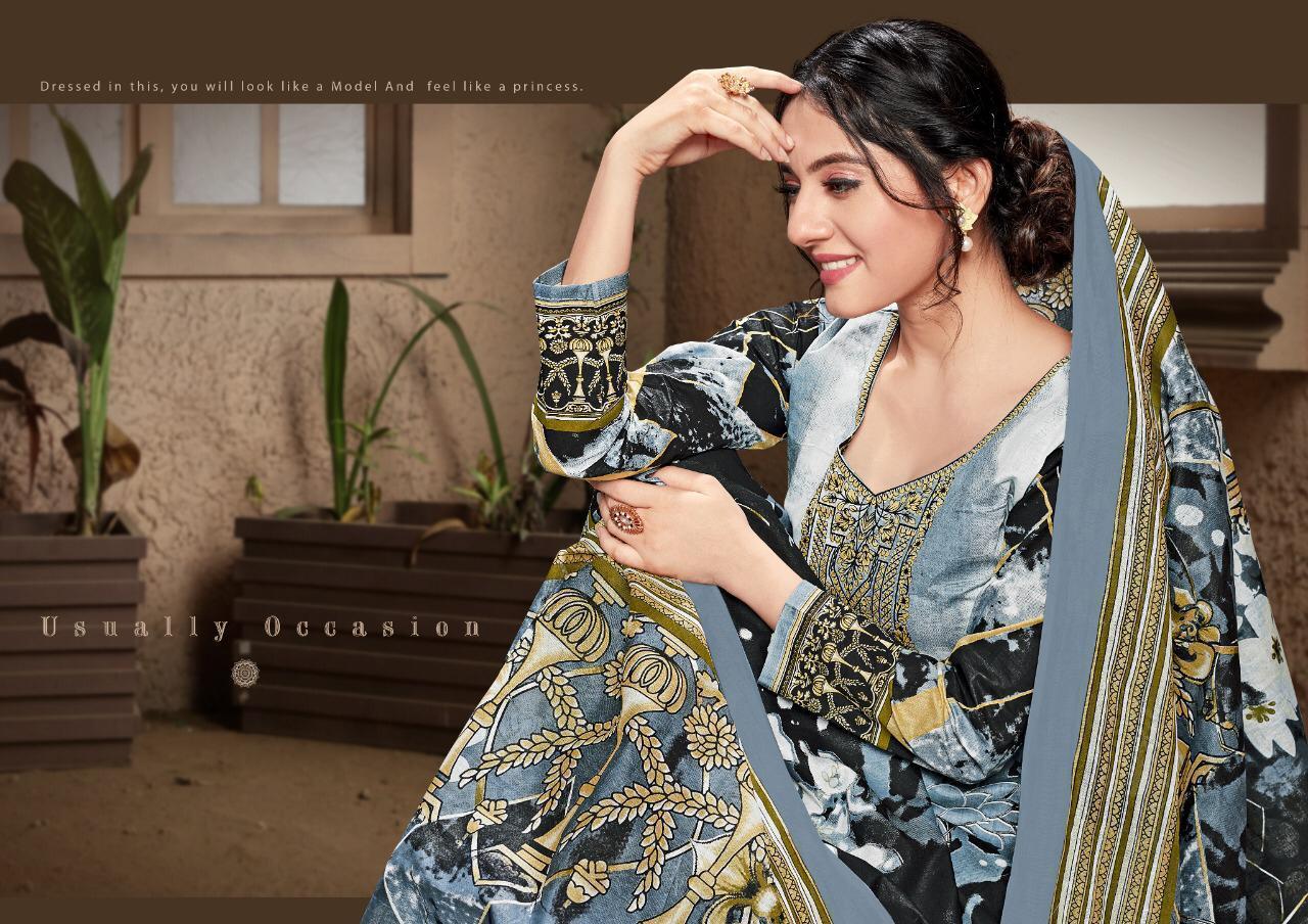 Gul Banu Vol 2 Designer Lawn With Mal Dupatta Low Range Suits Wholesale
