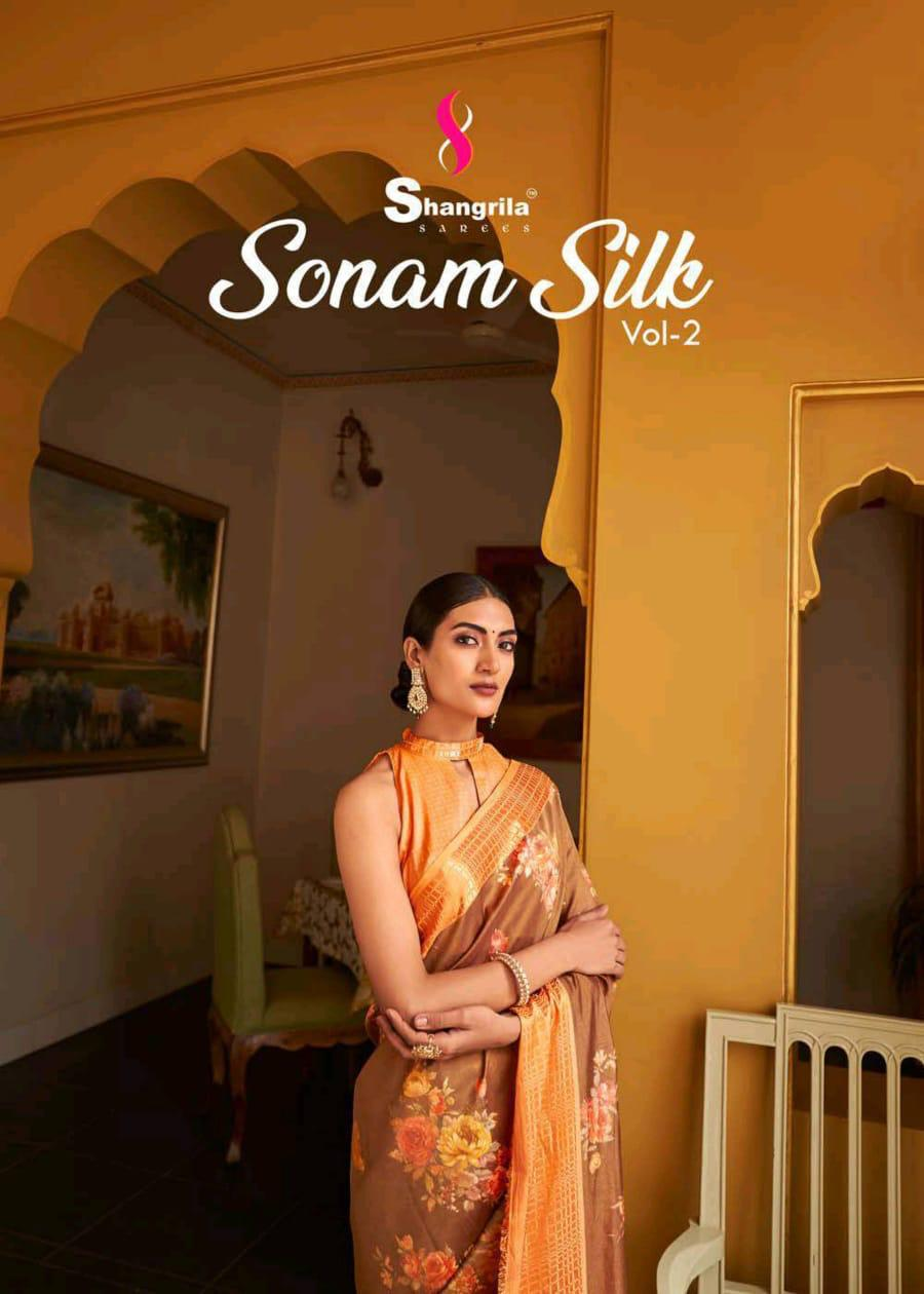 Shangrila Saree Sonam Vol 2