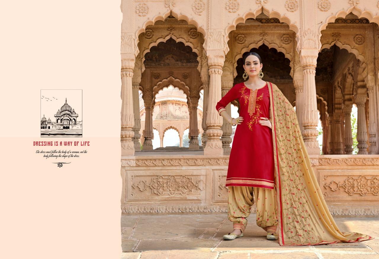 Kessi Panetar By Patiyala Designer Jam Silk With Embroidery Work Suits Wholesale