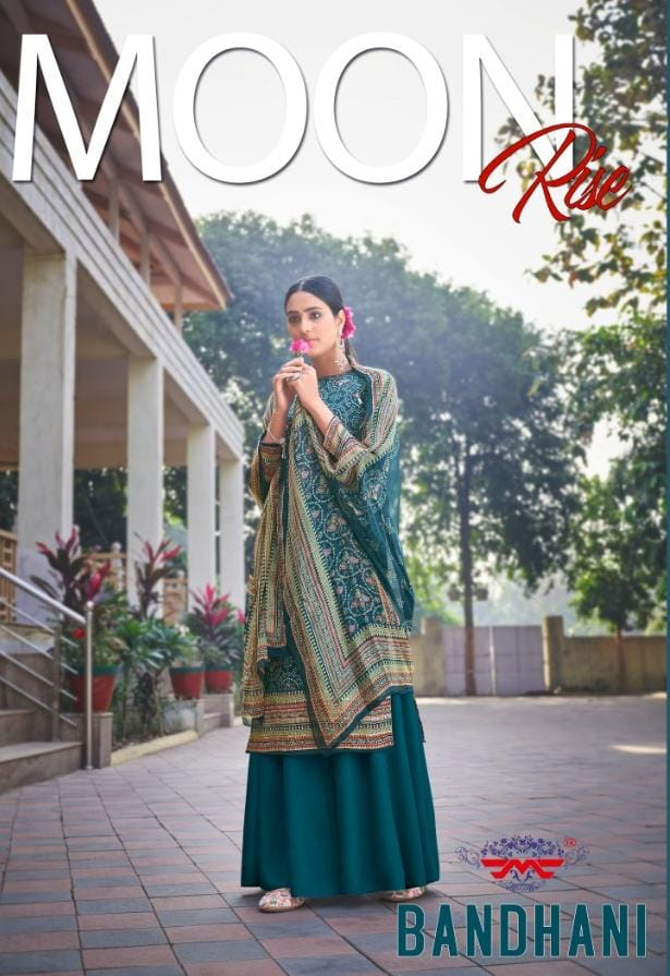 Hansa Bandhani Designer Pure Jam Cotton Digital Printe With Handwork Suits Wholesale