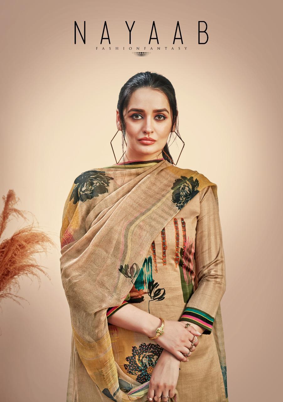 Sargam Prints Nayaab Designer Jam Print With Heavy Khatli Work And Handwork Suits Wholesale