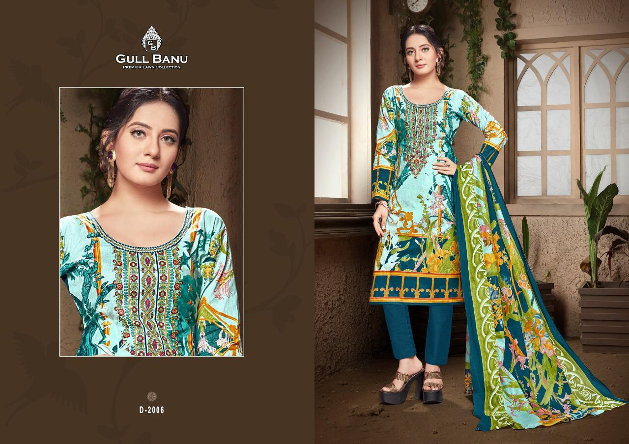 Gul Banu Vol 2 Designer Lawn Low Range Suits In Singles