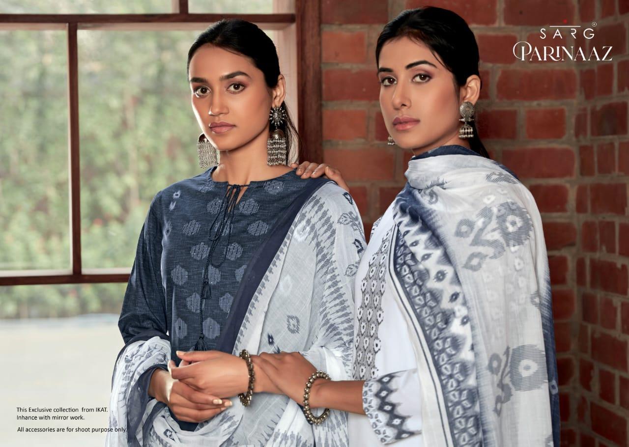 Sahiba Sarg Parinaaz Designer Cambric Cotton Digital Print With Handwork Suits Wholesale