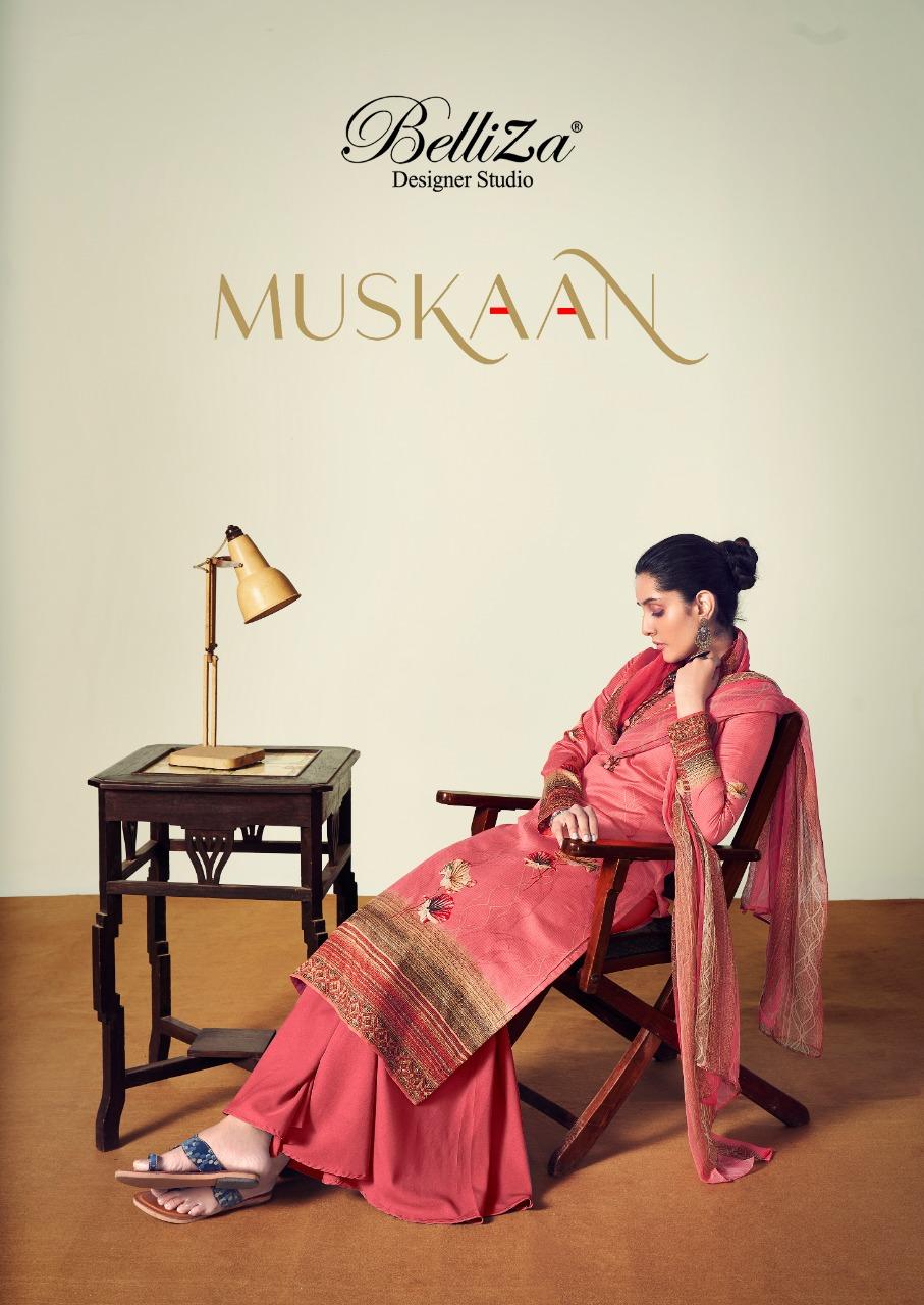 Belliza Muskan Designer Pure Heavy Jam Cotton Digital Printed Suits Wholesale