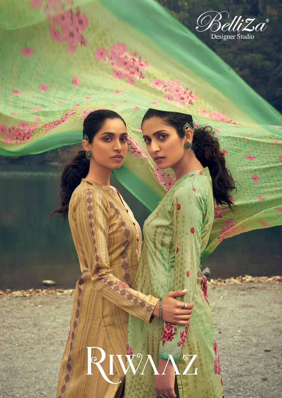 Belliza Riwaaz Vol 2 Designer Jam Cotton Digital Printed Low Range Suits Wholesale