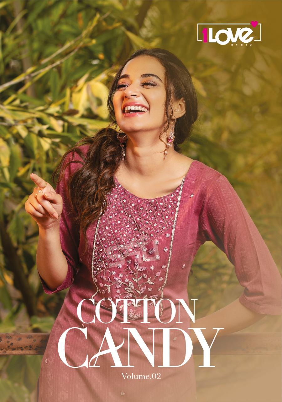 S4u Cotton Candy Vol 2 Designer Rayon Stylish Long Kurtis In Best Wholesale Rate