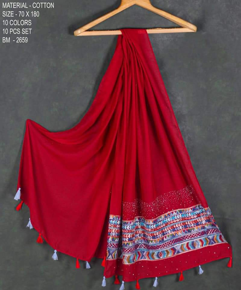 China Cotton Stoles Designer Stoles In Best Wholesale Rate
