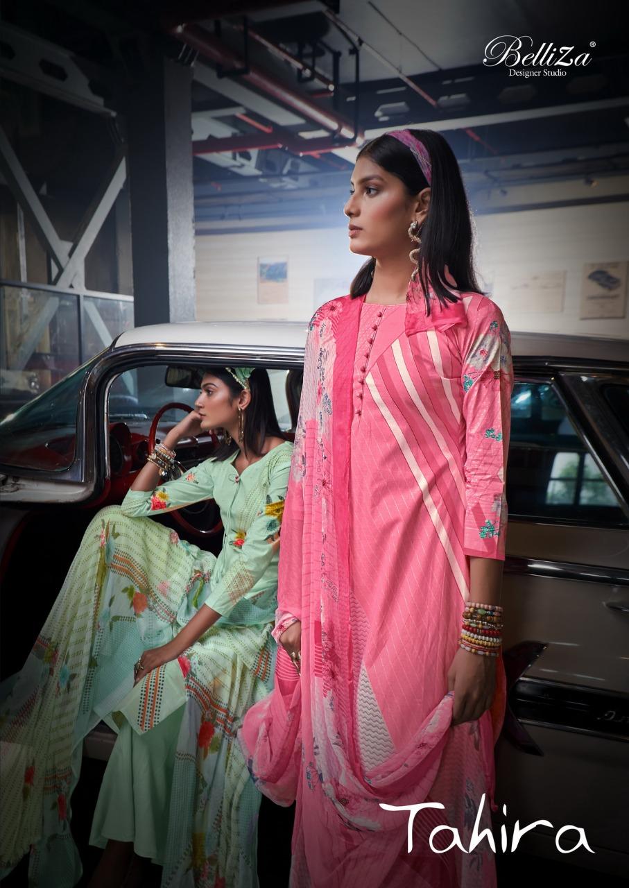 Belliza Tahira Designer Pure Cotton Digital Printed Low Range Suits Wholesale