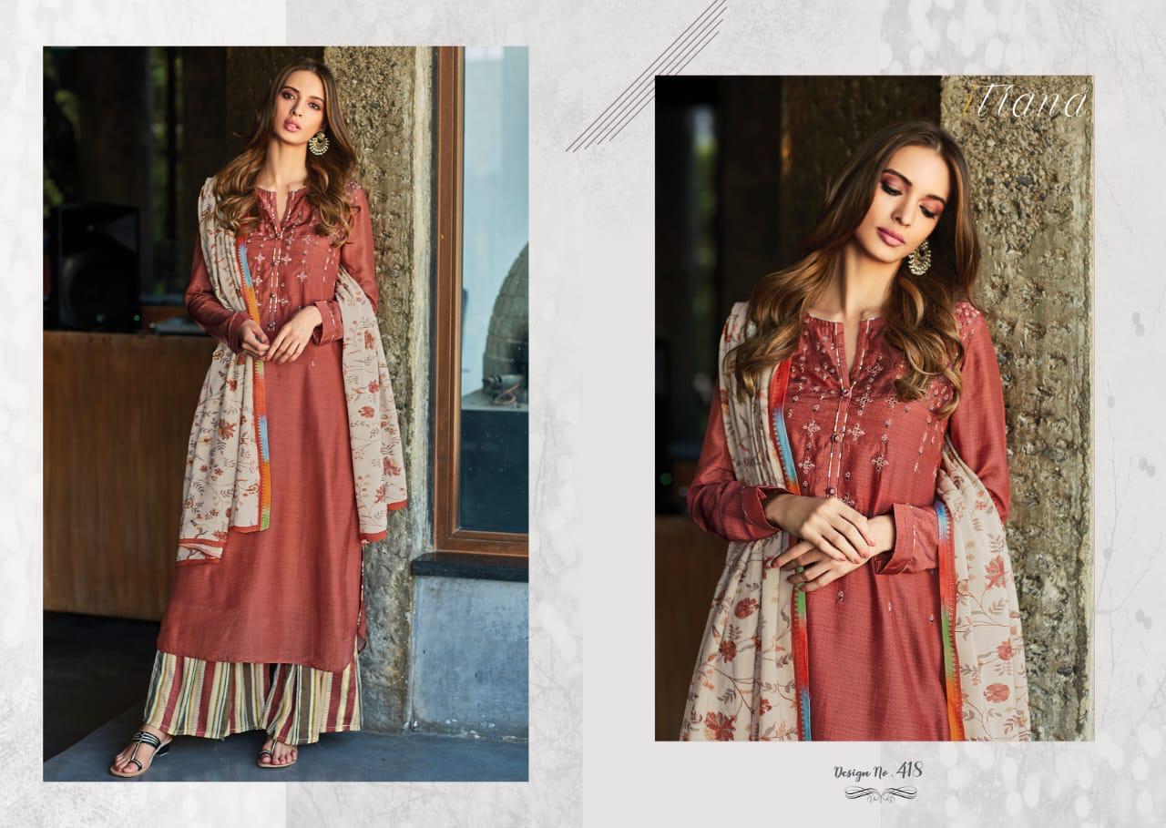 Itrana Hazel Beauty Digital Print With Embroidery Suits Wholesale