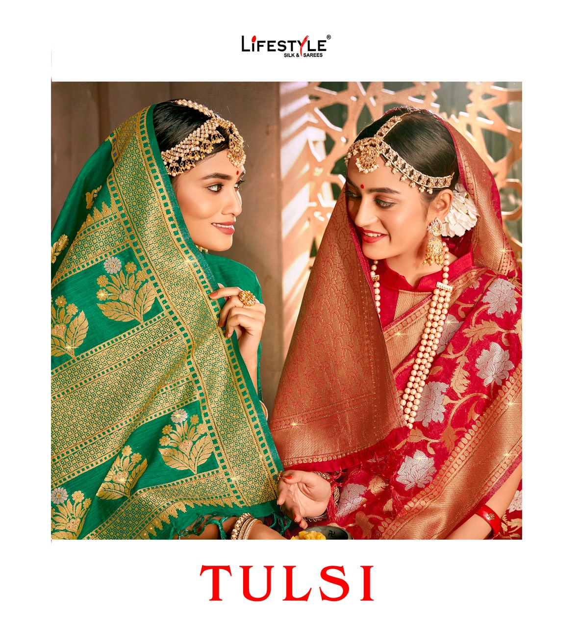 Tulsi Lifestyle Designer Party Wear Heavy Work Suits Wholesale