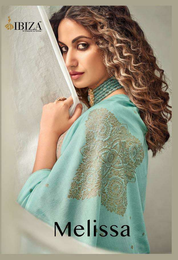 DESIGNER PURE COTTON SILK WITH EMBROIDERY WORK OCCASIONAL WEAR SUITS WHOLESALE
