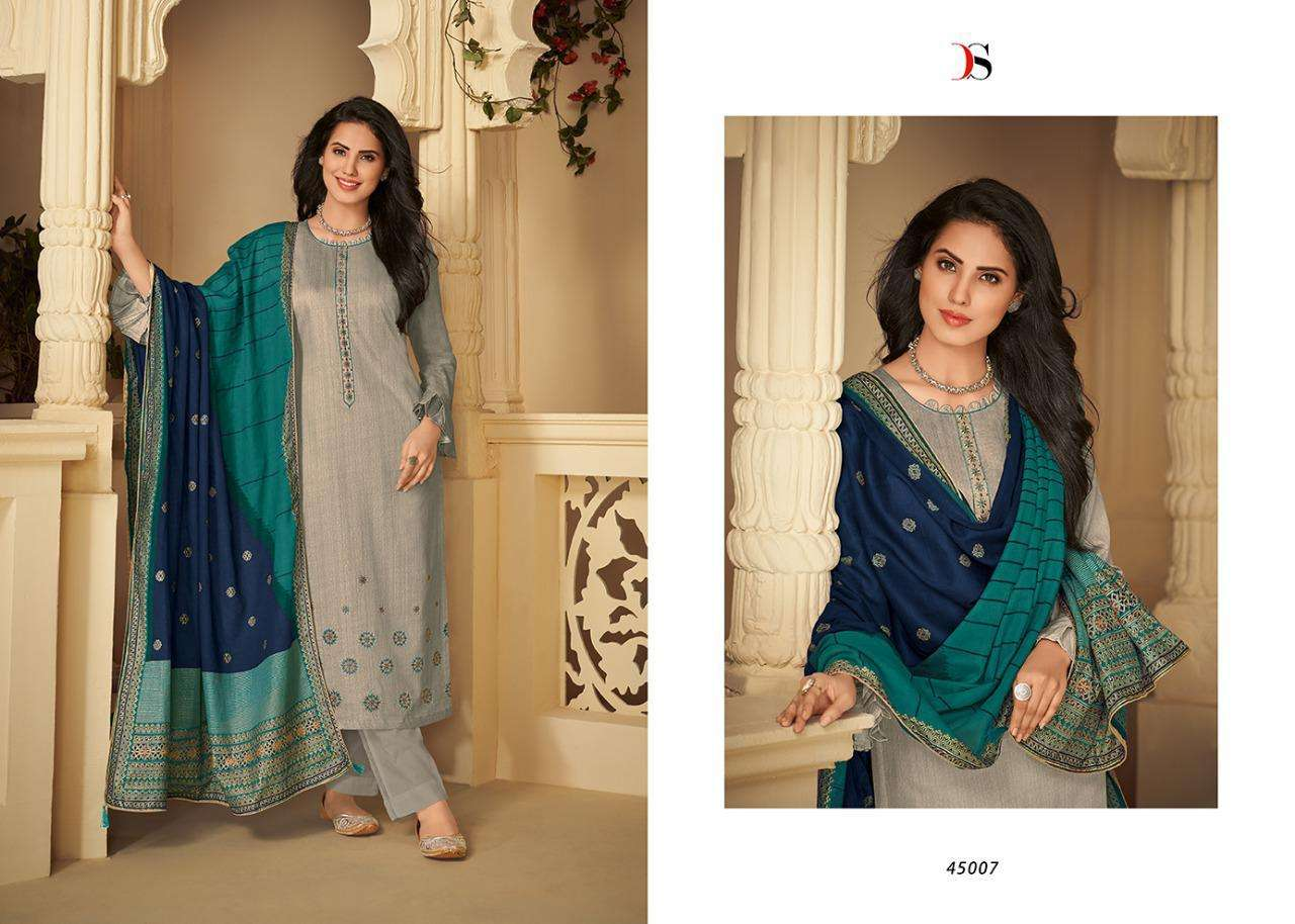 DEEPSY SUITS PANGHAT VOL 4 DESIGNER JAM COTTON PRINT WITH SELF EMBROIDERY WORK SUITS IN SINGLES