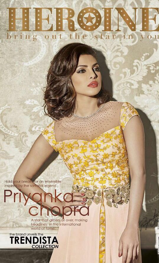 Jinaam Heroine Trendista Featuring Priyanka Chopra Sale Price 1700/-