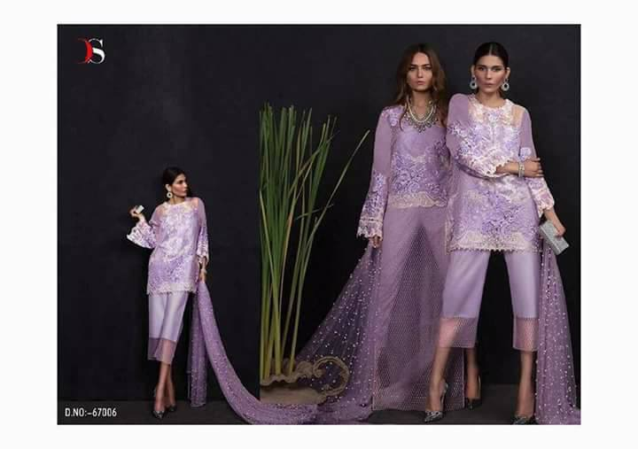 Nasreen By Deepsy Heavy Embroidered Suits Rate: 1225/-