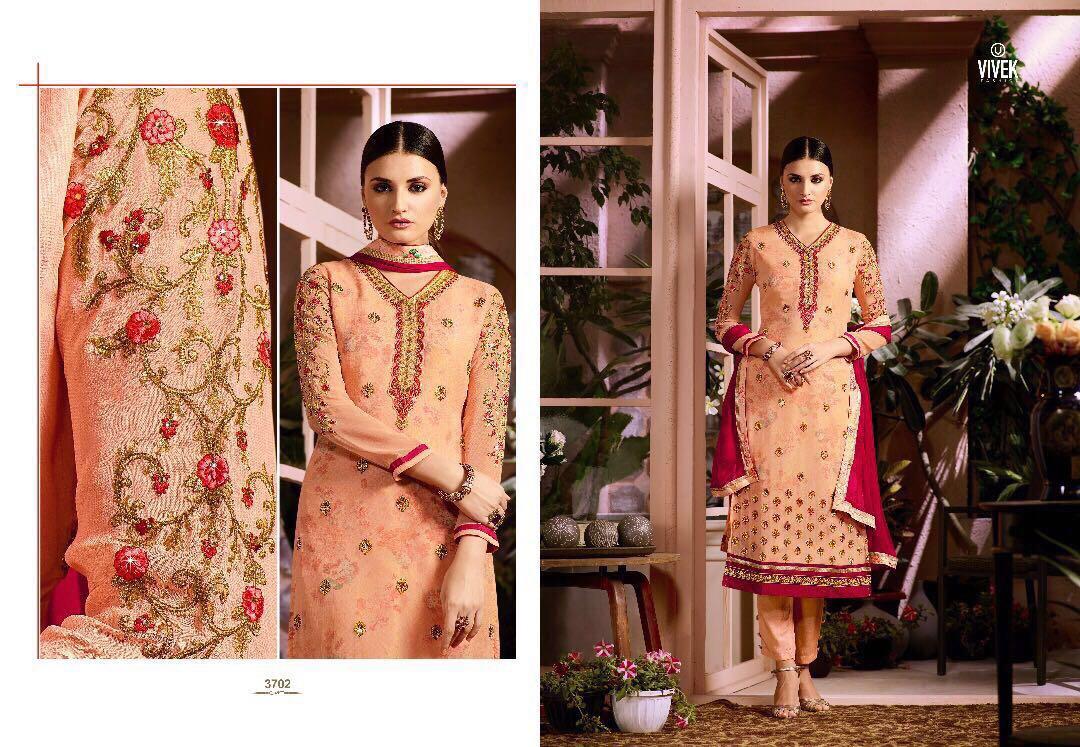 Vivek Fashion Presents Fusion Rate 1350/-