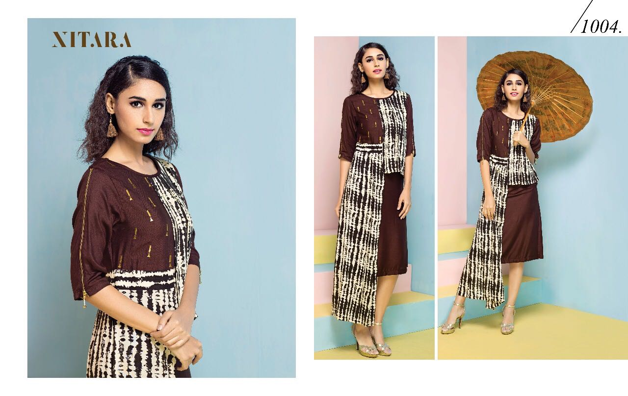 Nitara Is Back Again Feauturing With Its New Collection Splash Rate 725/-