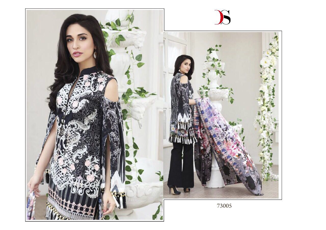 Deepsy Rehana Pure Cotton Satin With Embroidery Rate 799/-
