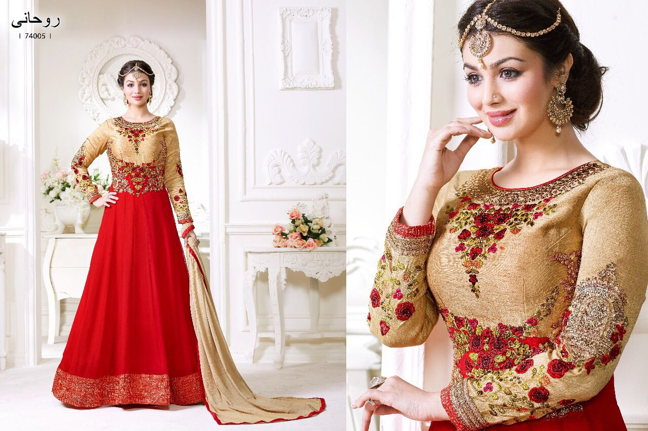 Lavina Present Top Georgett Embroidery Vol 4 Rate 1899/-